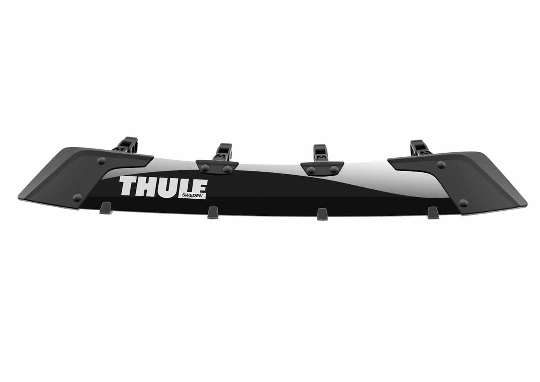 thule roof rack wind deflector
