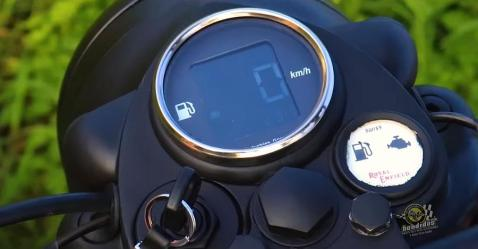 Royal Enfield Digital Speedo Console