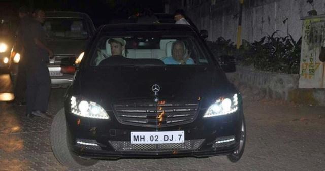 Aamir Khan W221 Mercedes Benz S Class S600