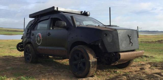 Toyota Fortuner Modified 9