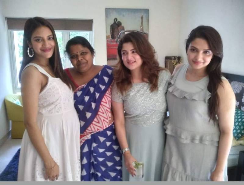 Amidst the news of Nusrat Jahan's pregnancy, a photo created panic, the actress was seen in baby bump
