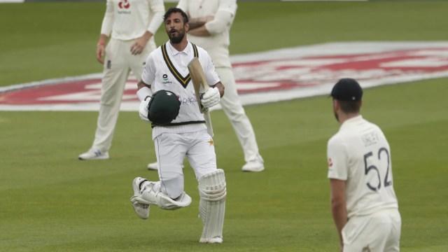 ENG vs PAK: मसूद के 'शान'दार शतक से पाक मजबूत, इंग्लैंड को शुरुआती झटके
