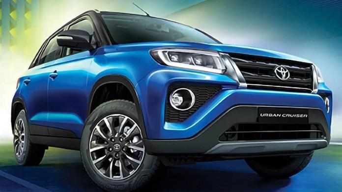Toyota Urban Cruiser SUV to be launched on September 23   23 सितंबर को  लॉन्च होगी Toyota Urban Cruiser, प्री-बुकिंग पर मिल रहा है ये ऑफर   Hindi  News, बिजनेस