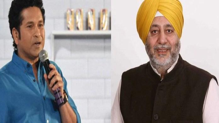 Farmer's Protest: कांग्रेस सांसद Jasbir Gill ने साधा सेलिब्रिटीज पर निशाना, Sachin Tendulkar को लेकर कह दी ये बात