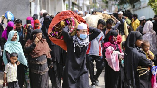 Pakistan and UAE were getting funding to settle Rohingya in Jammu and Kashmir   रोहिंग्या लोगों को Jammu and Kashmir में बसाने के लिए Pakistan और UAE से हो रही थी फंडिंग,