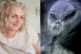 ब्रिटिश महिला पाउला का कहना है कि एलियंस ने उनका 52 बार अपहरण किया