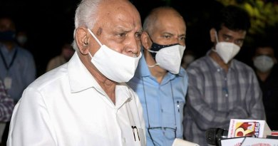 BS Yeddyurappa said on the speculation of change of leadership in Karanatak, the day the party will say that I will resign