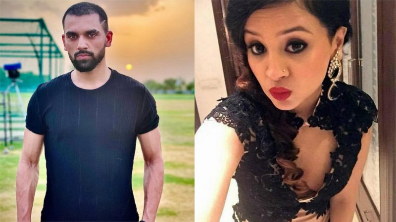 Dhoni's bowler's 'Ghajini look' set fire on social media, Sakshi reacted in this manner