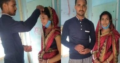 Bihar: Married woman marries lover in front of toilet in moving train, pictures going viral