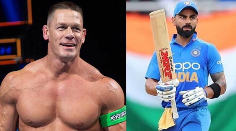 WWE Superstar John Cena once again posted Virat Kohli's picture, fans were confused