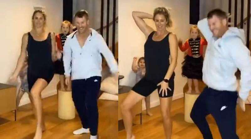 David Warner sizzles Punjabi dance with wife and daughters, Tik Tok video goes viral