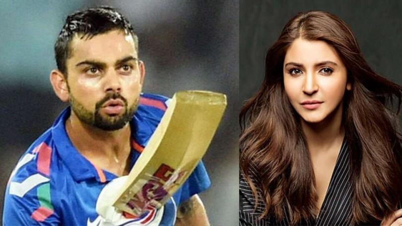 When Anushka Sharma picked up the cricket bat, her husband Virat Kohli got into a neck-and-neck fight