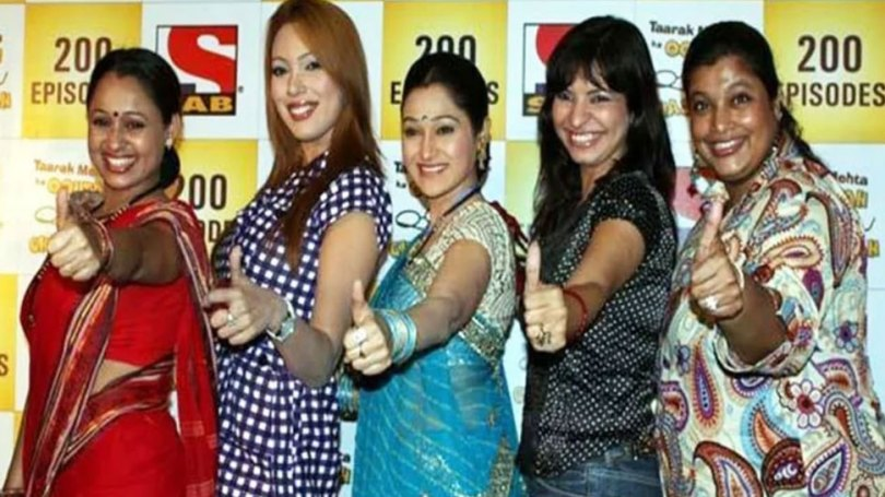 Taarak Mehta Ka Ooltah Chashmah's Roshan aka Jennifer Mistry And Ambika Ranjankar Are soul sister |  Not only Tappu and Gogi of 'Taarak Mehta Ka Ooltah Chashmah', these two actresses are also 'sisters'