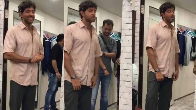 Hrithik Roshan sings sings koi mil gaya song in bihari tone |  When Hrithik Roshan told his staff, 'Yeh toh Bihari mein gana pagaga' and then started singing