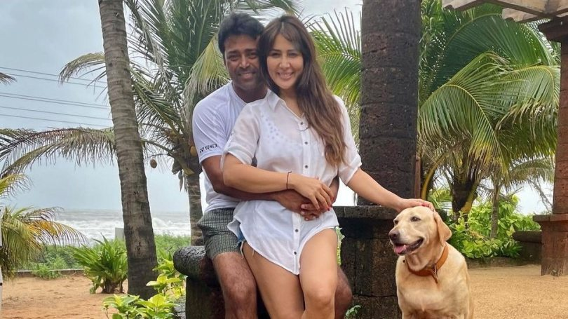 Leander Paes and Kim Sharma enjoying vacation in goa dating rumors around |  Mohabbatein fame Hasina Kim Sharma was seen in the arms of Leander Paes, questions raised about dating