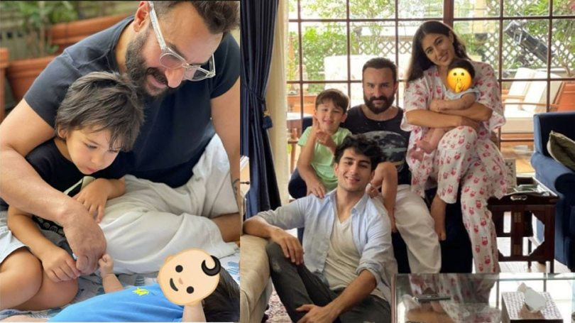 Why Saif Ali Khan and Kareena Kapoor Khan Constantly Hiding the Face of Second Child Jeh    Sara Ali Khan shared a picture with Jeh, but Kareena's son's face could not be seen again