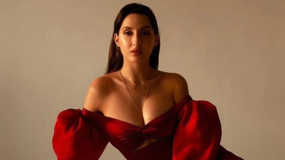 Nora Fatehi Shared a video of doin Hook Step of Zaalima Coca Cola Pila De From Bhuj The Pride Of India   Nora Fatehi is demanding for the coolness of the heart in a glamorous style, Govinda also supported