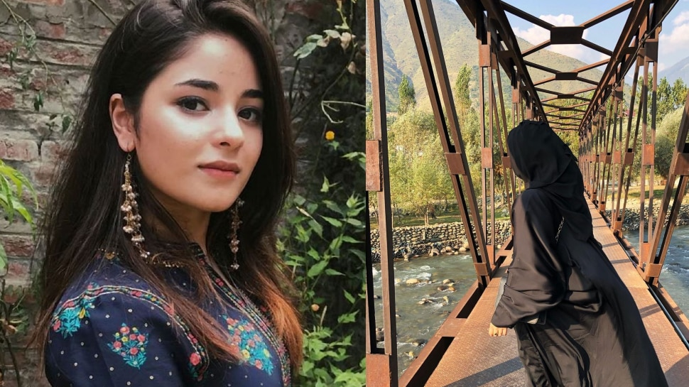 Dangal Girl Zaira Wasim Shared Her First Photo on Instagram, Have You Seen It?  |  After leaving Bollywood, 'Dangal Girl' Zaira Wasim shared her first photo, people are making such comments