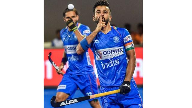 Manpreet Singh hockey 1