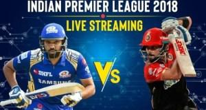 IPL 2018 Live Score, RCB vs MI Live Cricket Score: बेंगलोर बनाम मुंबई लाइव स्ट्रीमिंग
