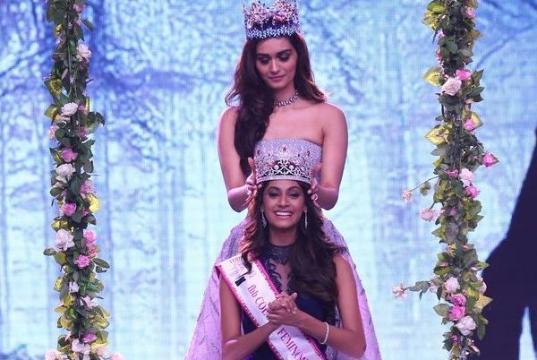 फेमिना मिस इंडिया 2018: तमिलनाडु की अनुकृति वास बनी 'मिस इंडिया 2018'
