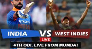 IND vs WI 4th ODI Match Live Score Update: रोहित शर्मा ने लगाया शतक, भारत के 2 विकेट गिरे