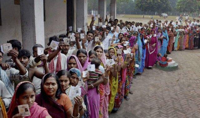 मध्य प्रदेश की 230 विधानसभा सीटों मतदान आज, 3 बजे तक 50 प्रतिशत वोटिंग हुई