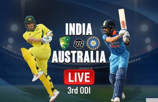 IND vs AUS 3rd ODI Match Live Score Update: ऑस्ट्रेलिया के 9 विकेट गिरे, चहल ने लिए 5 विकेट