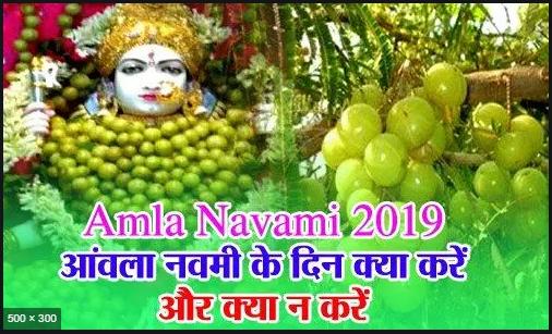 Amla Navami 2019: जानिए! आंवला नवमी के दिन क्या करें और क्या न करें