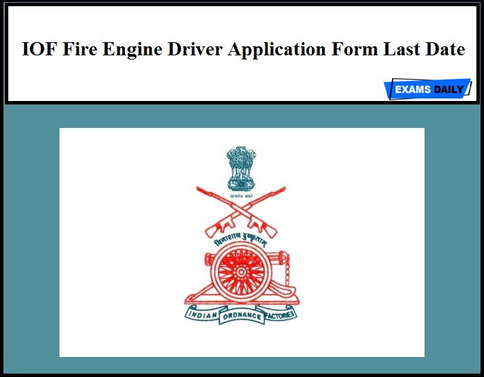 49 cfr 391.49(3) exception, a letter of application for an spe certification may be submitted by the driver applicant, this is a unilateral application. Iof Fire Engine Driver Recruitment 2020 Application Form Last Date
