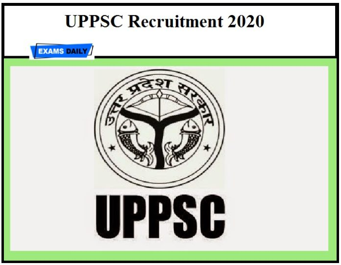UPPSC Recruitment 2020 OUT – Apply Online for Regional Inspector Posts Here!!!