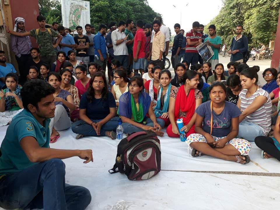छात्राओं पर लाठीचार्ज, बीएचयू की दमन-नीति का असली रूप है
