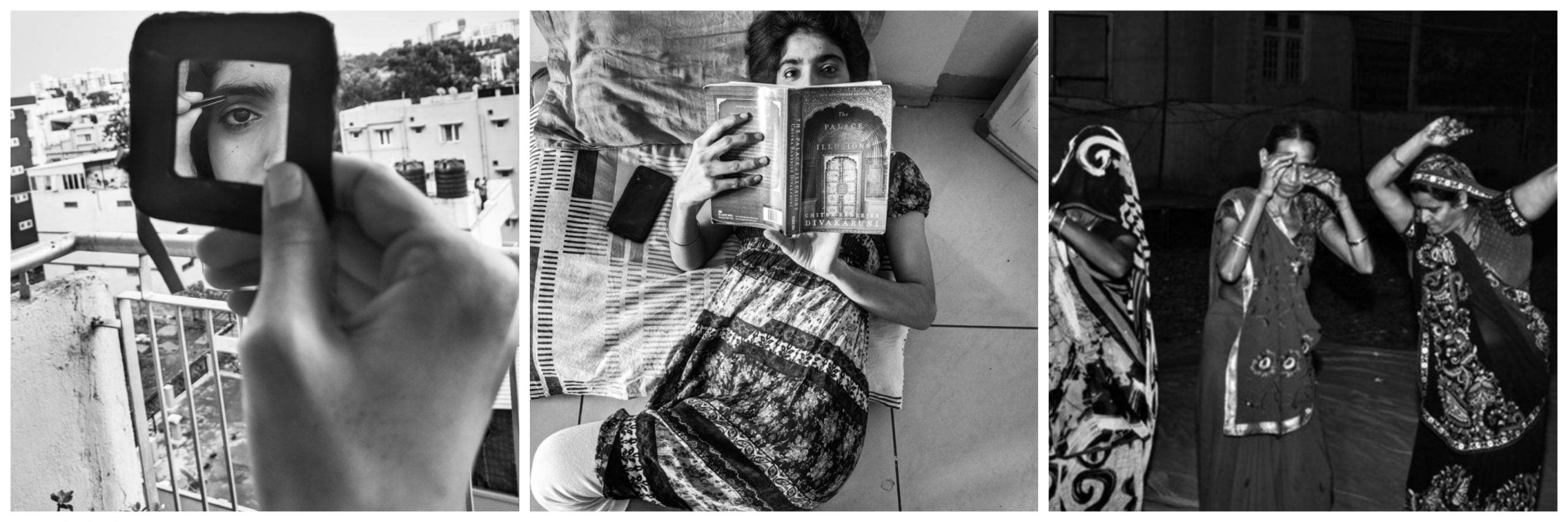 फोटो निबंध: फुर्सत के पलों में महिलाओं को कैद करती तस्वीरें