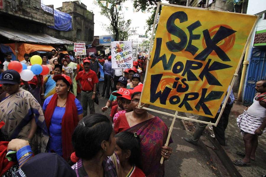सेक्सवर्क भी एक काम है और सेक्स वर्कर्स भी सम्मान की हकदार हैं