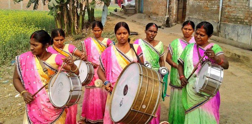 उम्मीद की एक किरण, बिहार की दलित महिलाओं का नारी गुंजन सरगम बैंड
