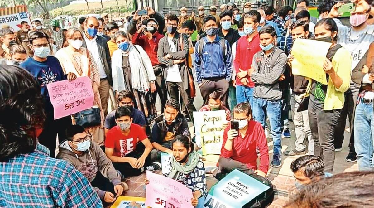 कोविड-19 ने छात्रों से सुनहरा दौर छीन लिया, सरकार की लापरवाही से उपजे गंभीर हालात
