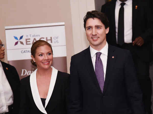 wife of justin trudeau