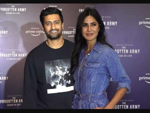 Katrina Kaif and Vicky Kaushal