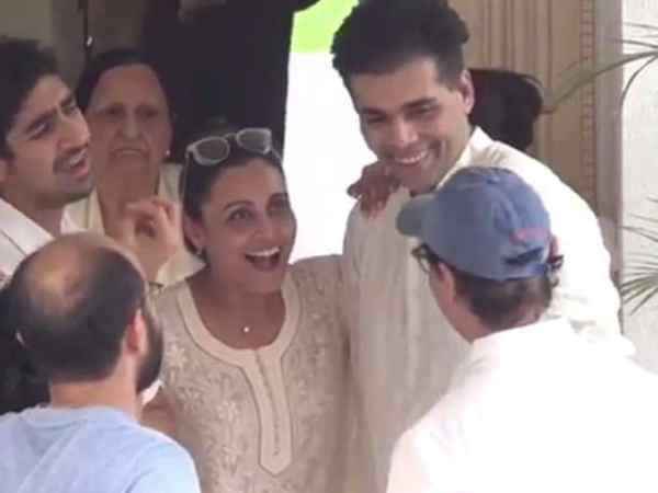 Karan Johar - Rani Mukerji - Aamir Khan - Ayan Mukerji