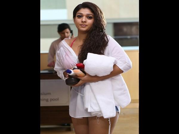 Nayanthara bikini look