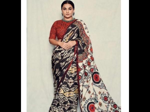 Vidya Balan told the special reason behind wearing a sari
