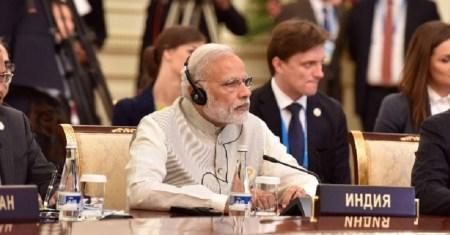 फाइल फोटो - ताशकंद में प्रधानमंत्री नरेंद्र मोदी।