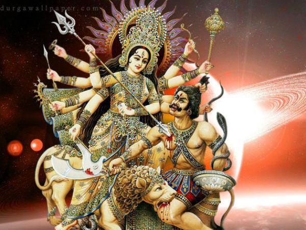 महिषासुर का वध देवी चामुंडेश्वरी ने किया था