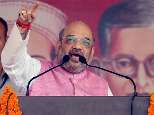 CM Siddaramaiah is the only socialist leader who wears a wrist watch worth Rs. 40 lakhs: Amit Shah