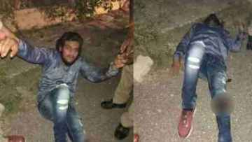 police encounter kgmu doctor car loot case two rogues arrested