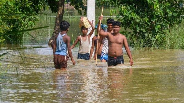 बिहार के 12 जिले बाढ़ से प्रभावित