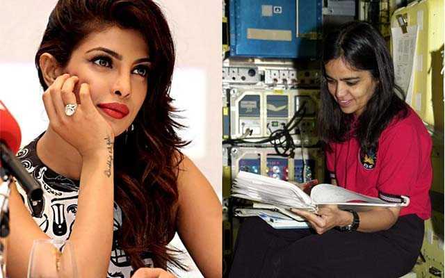 Priyanka chopra on biopic of kalpana chawla