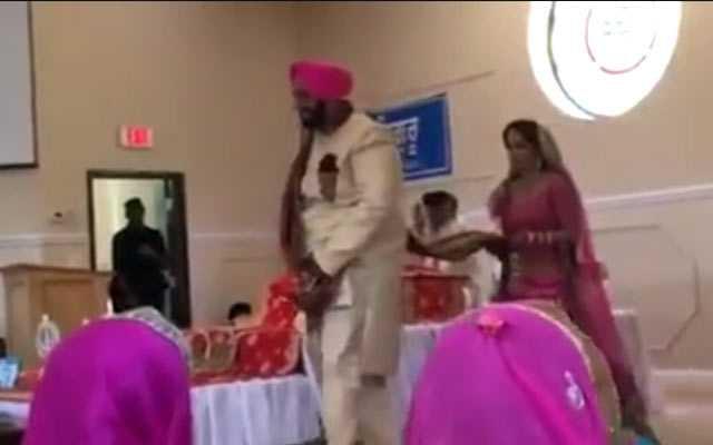 शादी के फेरों के दौरान खुला दूल्हे का नाड़ा, देखिए फिर क्या हुआ...