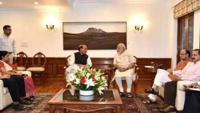 कश्मीर की हिंसा पर पीएम मोदी की बैठक, कहा 'बुरहान आतंकी है नेता न बनाएं'