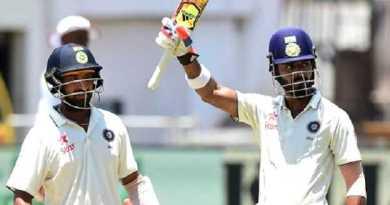दूसरा टेस्ट मैच: दूसरे टेस्ट के दूसरे दिन भारत ने अपनी पकड़ की मजबूत
